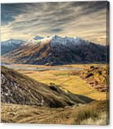 Landscape Of Wanaka Canvas Print