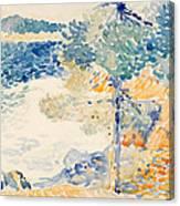 Landscape. Saint Clair Canvas Print