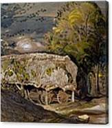 Landscape With A Barn, Shoreham, Kent Canvas Print