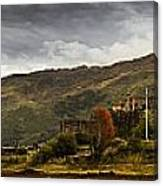 Landscape With A Castle On A Hill And A Canvas Print