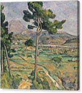 Landscape With Viaduct Canvas Print