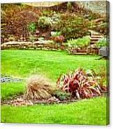 Landscaped Garden Canvas Print
