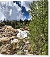 Alluvial Fan Colorado Canvas Print