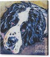 Landseer Newfoundland Dog Canvas Print