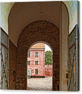 Landskrona Citadel Entrance Canvas Print