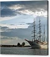 Landskrona Se Sea Cloud II 03 Canvas Print