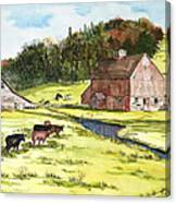Lanesboro Barn Canvas Print