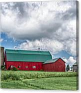 Langford Barn  7d06202 Canvas Print
