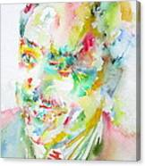 Langston Hughes Canvas Print