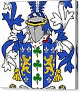 Lanigan Coat Of Arms Irish Canvas Print