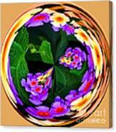 Lantana Orb Canvas Print