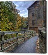 Lanterman's Mill In Fall Canvas Print