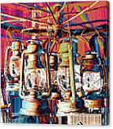 Lantern Chandelier 02 Canvas Print