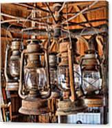 Lantern Chandelier Canvas Print