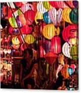 Lantern Stall 02 Canvas Print