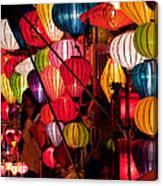 Lantern Stall 03 Canvas Print