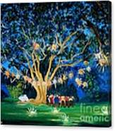 Lantern Tree Canvas Print
