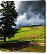 Lanty's Tarn On A Stormy Afternoon Canvas Print