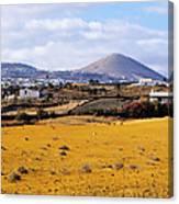Lanzarote Canvas Print