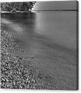 Lapping Waters On The Shore Canvas Print