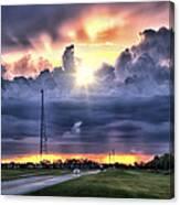 Large Cloud Canvas Print