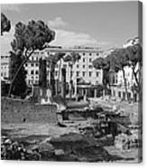Largo Di Torre - Roma Canvas Print