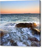 Larrabee Sunset Canvas Print