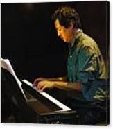 Larry Chinn On Piano Canvas Print