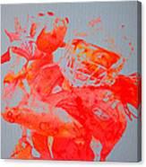 Larry Fitzgerald Canvas Print