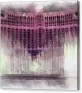 Las Vegas Bellagio Photo Art Canvas Print