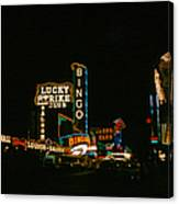 Las Vegas Lights2 Canvas Print