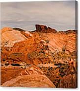 Las Vegas Nevada Mojave Desert Valley Of Fire Panorama Canvas Print