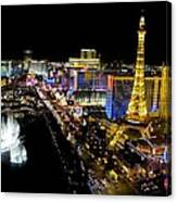 City - Las Vegas Nightlife Canvas Print
