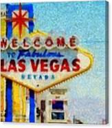 Las Vegas Sign Canvas Print