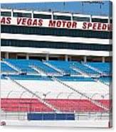 Las Vegas Speedway Grandstands Canvas Print