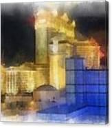 Las Vegas The Palace Photo Art Canvas Print
