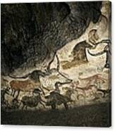 Lascaux II Cave Painting Replica Canvas Print