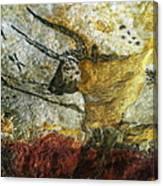 Lascaux II Number 3 - Vertical Canvas Print