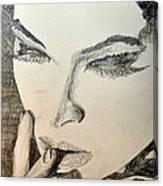 Lash Canvas Print