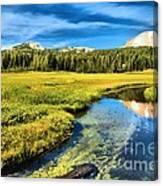 Lassen Reflections Canvas Print