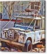 Lasseter Land Rover Canvas Print