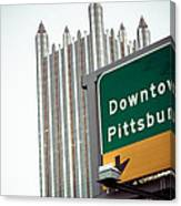 Last Exit Pittsburgh Canvas Print
