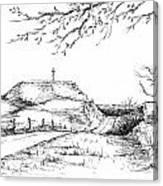 Last Hill Home Canvas Print
