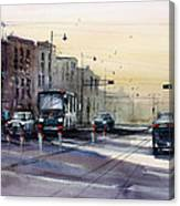 Last Light - College Ave. Canvas Print
