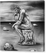 Last Man In The World Edit 4 Canvas Print