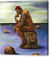 Last Man In The World Edit 5 Canvas Print