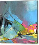 Last Man In Town Canvas Print
