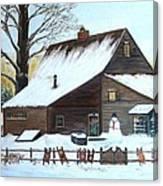 Last of Winter Canvas Print