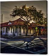 Last Stop Tarpon Springs Canvas Print