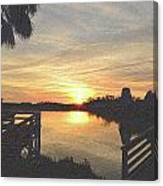 Last Sunset 2012 2 Canvas Print